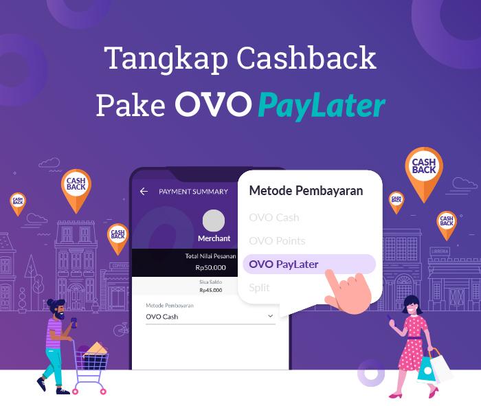 Belanja Sekarang Bayar Nanti Dengan OVO PayLater - Memantau apa saja