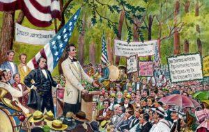 Hari ini dalam sejarah: Lincoln menyampaikan pidato House Divided-nya