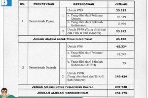 Siap-siap, Ada 254.173 Lowongan CPNS 2019