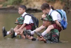 Video Perjuangan Prajurit TNI di Perbatasan Yang Menyentuh Hati