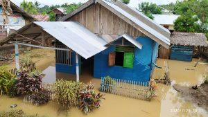 Luapan Bendungan Kosinggolan Hantam Tiga Kecamatan di Bolmong