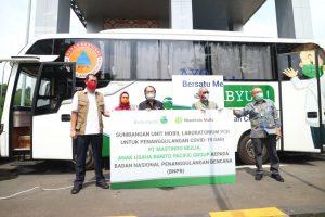 Bantuan Satu Mobil Laboratorium PCR Penanganan COVID-19 di Jawa Barat