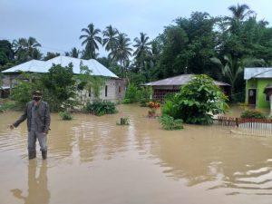 Sejumlah Desa di Dumoga Terendam, Karena Bendungan Meluap