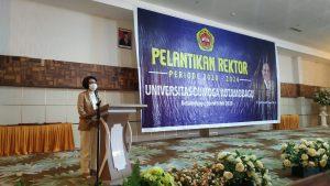Bupati Bolmong Hadiri Pelantikan Rektor UDK