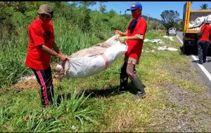 Peringatan World Cleanup Day 2020 di Bolmong Berhasil Kumpulkan 1,3 Ton Sampah