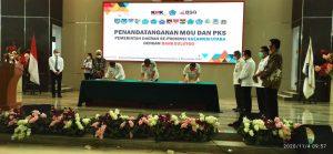 KPK Fasilitasi Penandatanganan MoU Pemda Sulut dengan Bank Sulutgo