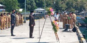 Peringatan Hari Pahlawan di Bolmong, Peserta Upacara Dibatasi dan Wajib Pakai Masker