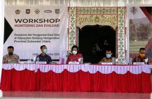 Yasti Buka Workshop Monev Penggunaan Dana Desa