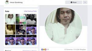 Miliki Wajah Mirip Jokowi, Akun Facebook Imron Gondrong Mendadak Viral