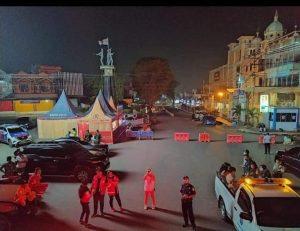 Malam Pergantian Tahun, Pusat Kota Kotamobagu Sepi