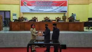 DPRD Bolmong Tetapkan APBD 2021 Lewat Paripurna