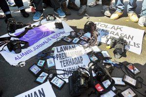 Catatan Akhir Tahun AJI 2020: 'Tahun Kelam' bagi Jurnalis Indonesia