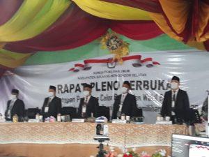 KPU Tetapkan Iskandar-Deddy Pemenang Pilkada Bolsel 2020