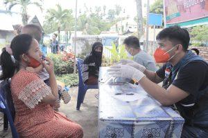 Dinkes Bolmut dan PMIBeri Pelayanan Kesehatan Korban Bencana Manado