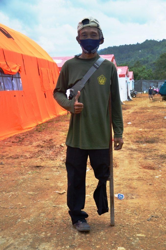 Rauf relawan bencana