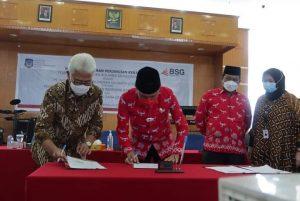 Pemkab Bolsel MoU dengan PT Bank SulutGo