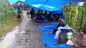 Takut Ada Tsunami, 3.800 Warga Majene Mengungsi ke Gunung