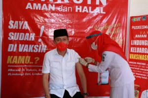 Bupati Bolsel Siap Berlakukan Sanksi Bagi Masyarakat yang Menolak Divaksin