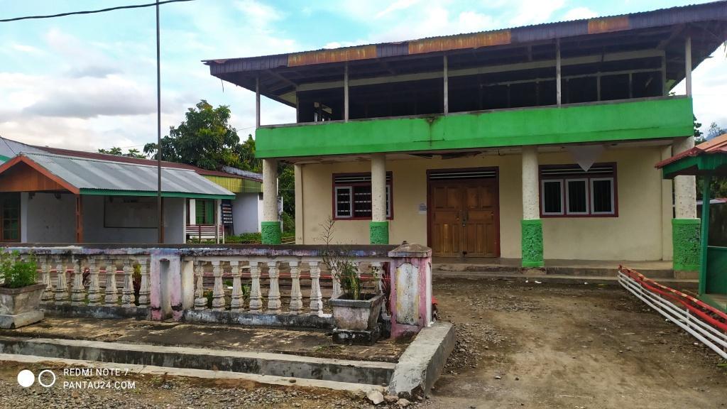 Kantor dan Balai Desa Mopait