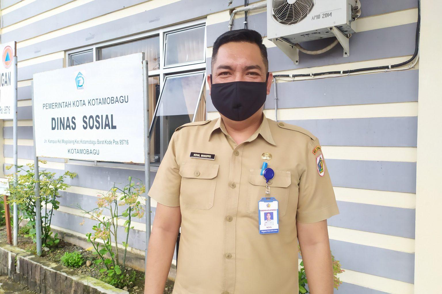 Kepala Dinas Sosial Kotamobagu, Noval Manoppo.
