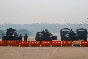 Hari Kedua Kudeta, Militer Myanmar Duduki Yangon