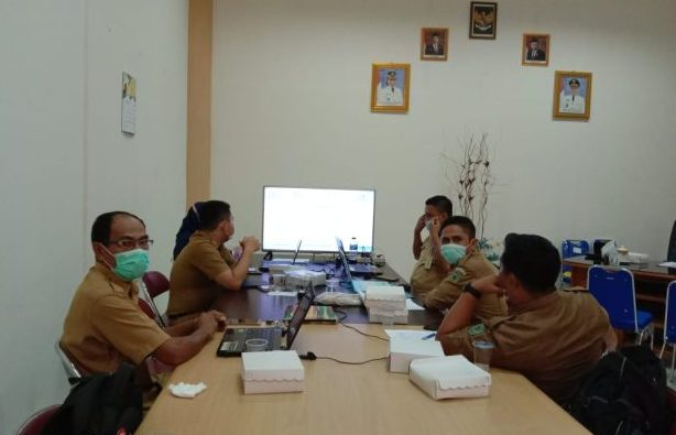 Pelaksanaan desk IKK atas LPPD Kabupaten Bolmong