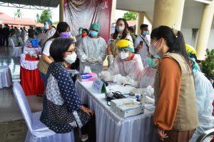 Kasus Covid-19 di Bolmong Mencapai 258, Sementara Dirawat 63 Orang