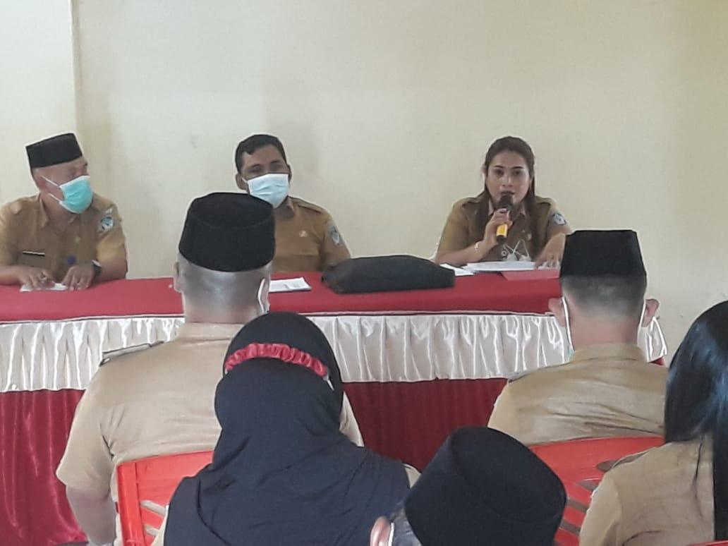 Rakor Dinas PMD bersama Camat, Kepala Desa dan BPD.