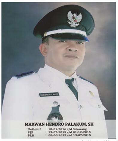 Marwan Hendro Palakum, SH