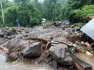 Puting Beliung hingga Banjir Bandang Hantam Kelurahan Bahu, Siau Timur, 163 Jiwa Mengungsi