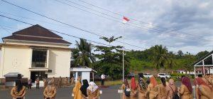 Pimpin Apel Perdana Pasca Dilantik, Iskandar: Ayo Kerja dan Terus Bekerja untuk Bolsel