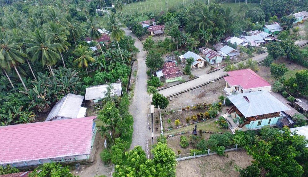 Foto udara Desa Mengkang