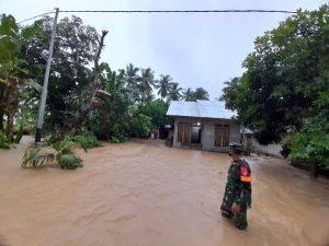 Hujan Lebat, Sejumlah Rumah di Desa Gihang Terendam