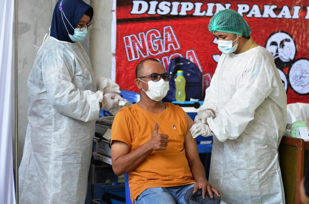 vaksinasi Covid-19 di Kabupaten Bolaang Mongondow
