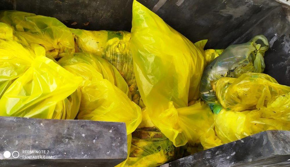 penyimpanan sampah medis
