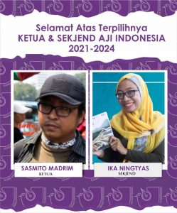 Sah, Duet Sasmito-Ika Nahkodai AJI Indonesia Periode 2021-2024