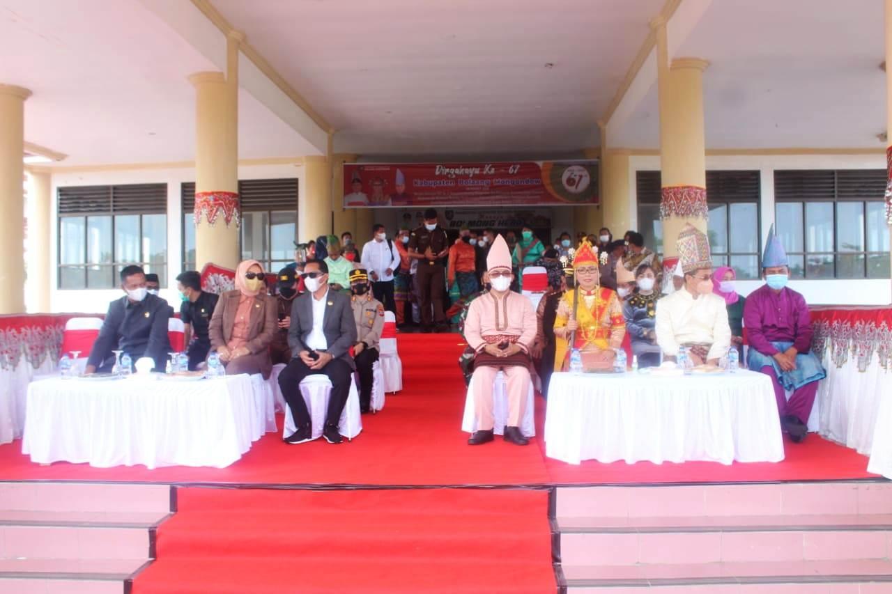 Suasana peringatan HUT Kabupaten Bolmong ke 67 tahun