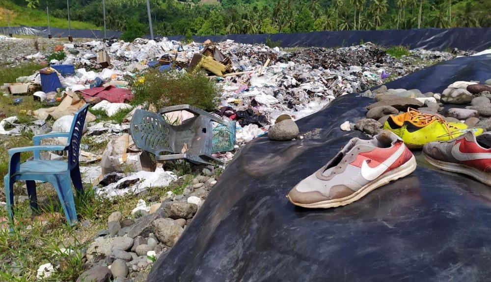 Tempat pemrosesan akhir (TPA) di Desa Inuai, Kecamatan Passi Barat