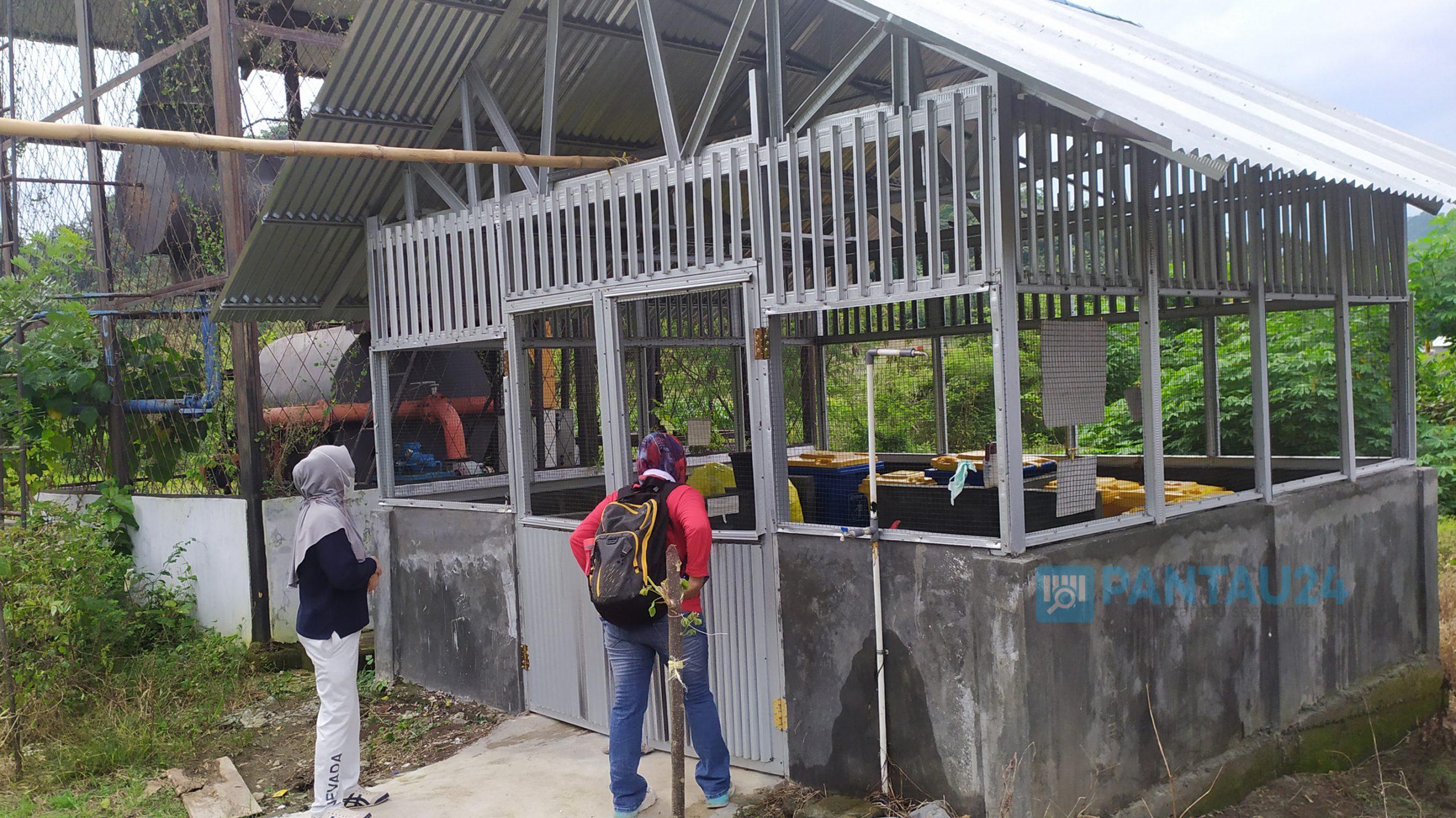 Tempat penyimpanan sementara limbah medis RSUD Bolmong