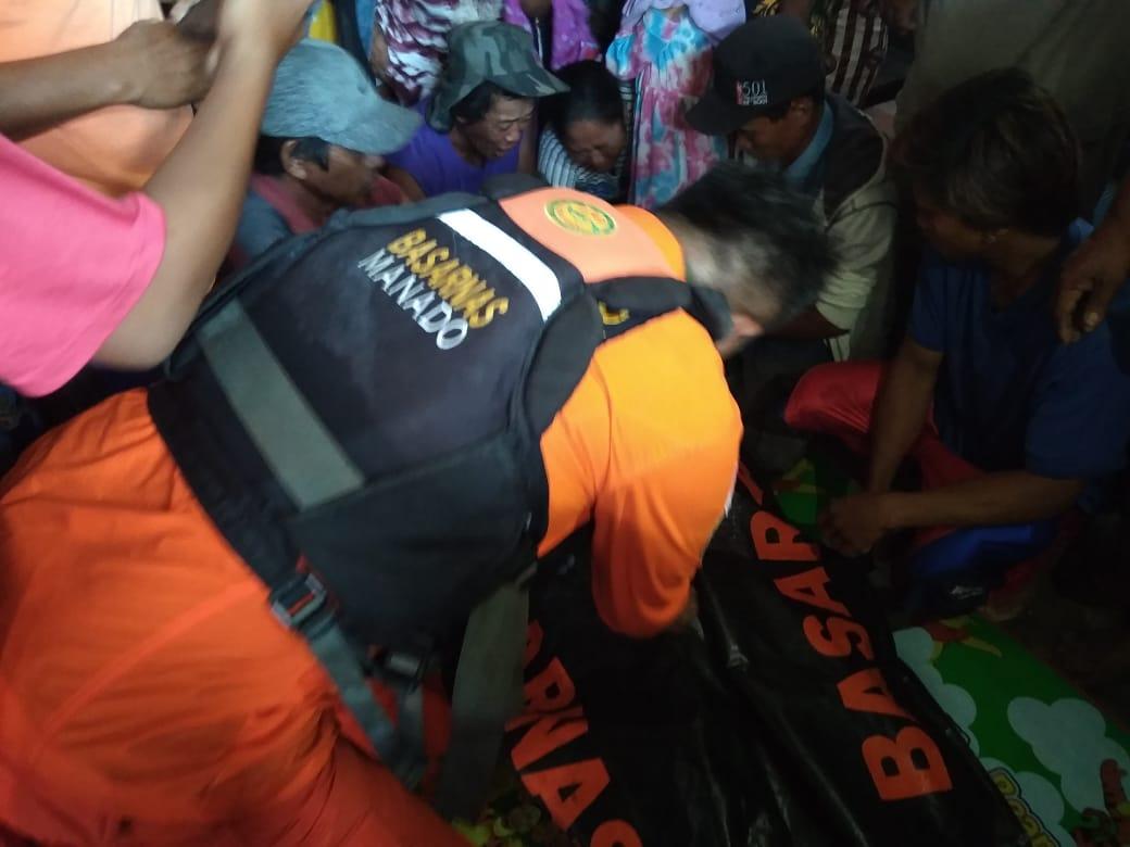 Tim SAR gabungan temukan warga Desa Minanga yang hilang di pantai Minanga, Kecamatan Bintauna
