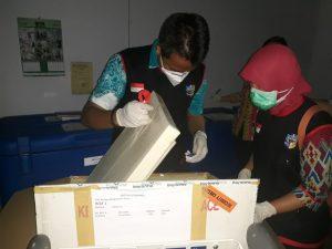 100 Vial Vaksin Covid-19 Tiba di Bolmut
