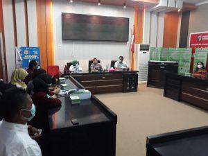 Dinkes Bolmut Terima Kunjungan Kerja Komisi III DPRD Gorut
