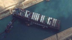 Terusan Suez Kembali Dibuka, Kapal Raksasa yang Tersangkut Berhasil Mengapung