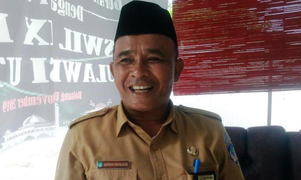 Kepala Dinas Pertanian Bolsel, Marwan Makalalag