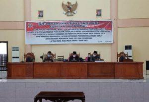 DPRD Bolmong Sukses Gelar 2 Agenda Paripurna Sekaligus