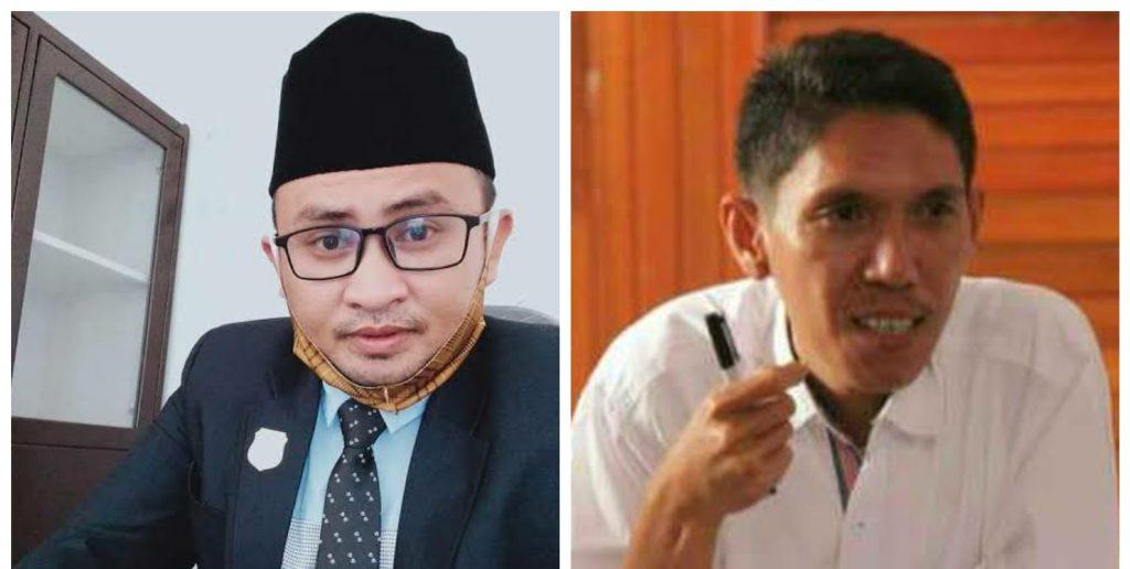 Foto: Obing Pakaya (kiri) dan Zulkarnain Kamaru (kanan)