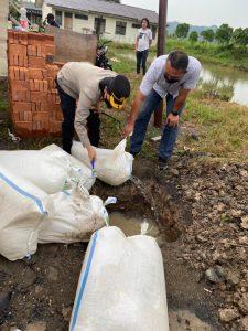 Ribuan Liter Miras Sitaan Polres Bolmong Dimusnahkan