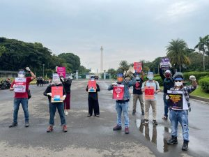 AJI Jakarta Desak Presiden dan Kapolri Usut Tuntas Kasus Penganiayaan Nurhadi