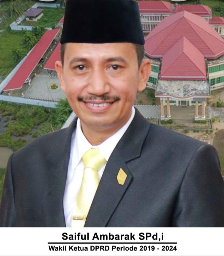 Wakil Ketua DPRD Bolmut, Saipul Ambarak