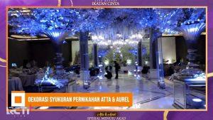 Intip Dekorasi Pernikahan Mewah Aurel Hermansyah dan Atta Halilintar